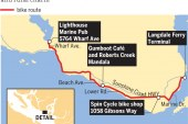 Daytripping cyclists can crank up historic, scenic Sechelt, Sunshine Coast