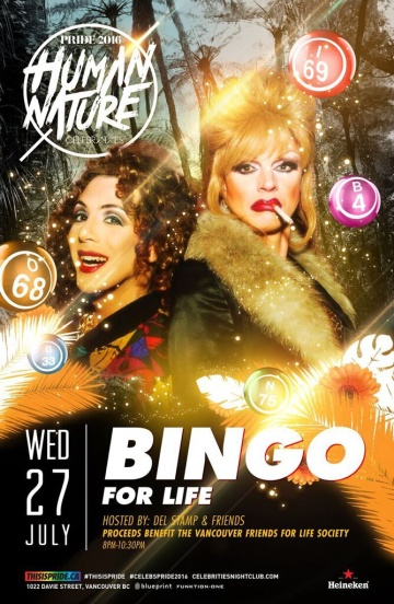 Pride 2016: This is Pride, Bingo for Life