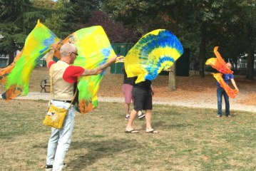 It's a Flagging Revival: Flagging in Nelson Park